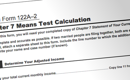 Taking the Mystery and Mean Away From the Bankruptcy Means Test -